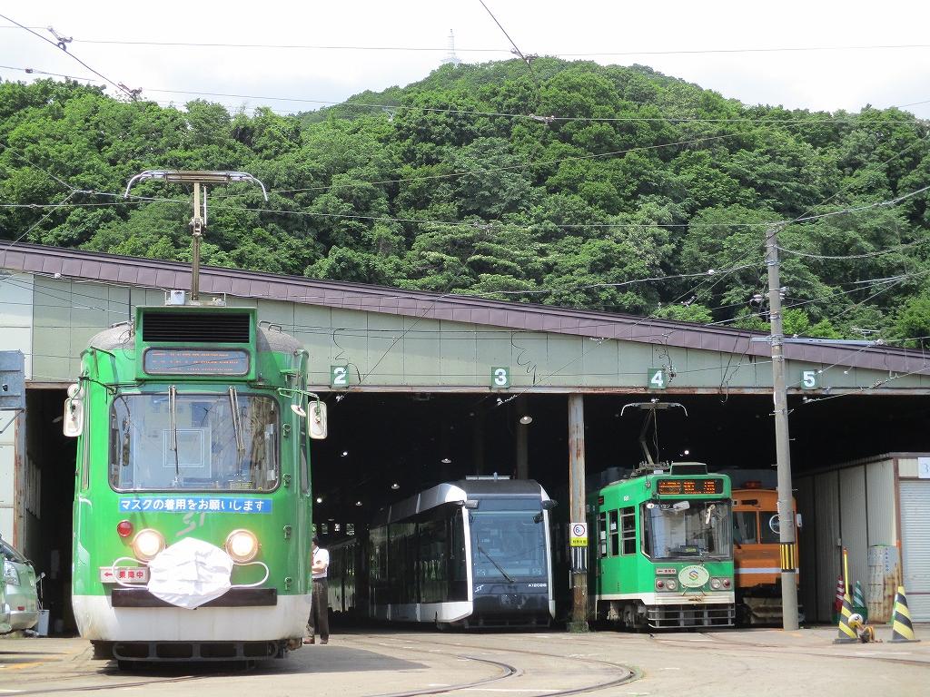 札幌市電にマスク着けてみました211号車-02